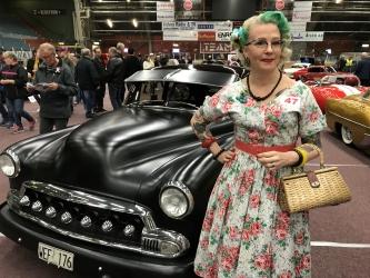 1a i modevisningen Linda Johansson
