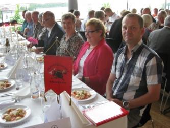 Luleå kommuns representanter vid middagen