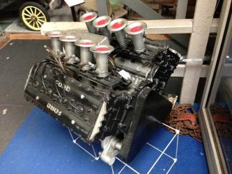 Ford tävlingsmotor