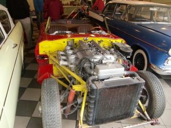 Jaguar under reparation