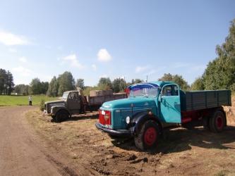 Scania-Vabis L 56 och Volvo N 86