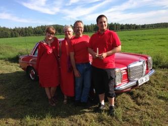 Röda teamet från Umeå